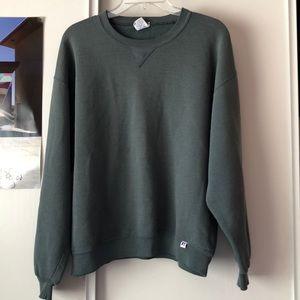 Vintage Russell athletic sweatshirt L sage